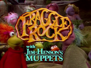 Fraggle Rock Title Card Cyan text
