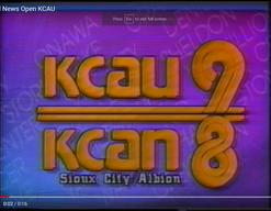 KCAU (1987-1996) and KCAN (1987-1996)