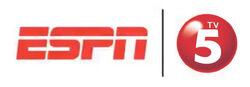 TV5 3D Logo ESPN5