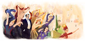 Google Sergei Diaghilev's 145th Birthday