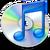 Itunes logo b