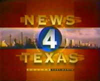KDFW News 4 Texas morning open - 1995