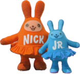 Nick Jr. Plush Bunnies