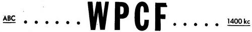 WPCF - 1951 -May 27, 1951-