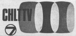 CHLT-TV logo pre-1967
