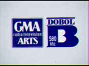 GMA Radio-Television Arts Dobol B 580 Color 1974-1979