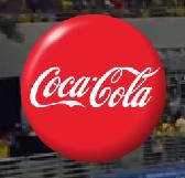 Logotipo de Oferecimento do Futebol na Globo (2005) Coca-Cola