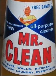 MR Clean 1958