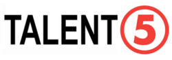 TV5 known as 5 Talent5 Logo (2019)