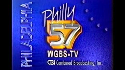 WGBS TV Philadelphia Late Movie bumper and Station ID, circa 1991