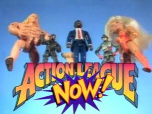 Action League NOW! Season 1 Logo