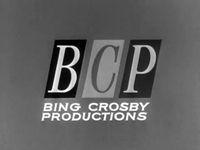 Bing Crosby Productions logo (black and white)