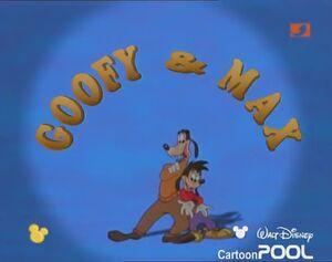 Goofy und Max Logo