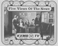 KXMB-TV news ad 1973
