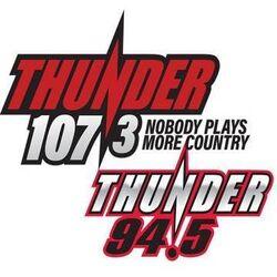 WBBL-WTNR Thunder 107.3 & 94.5