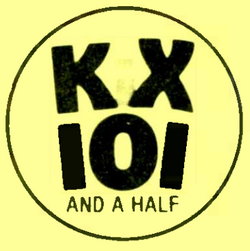 WKXW - KX 101 and a Half - 1980 -October 15, 1980-