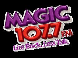 WMGF 107.7 logo