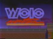 WOIO Nineteen Neon Sign