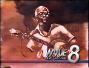 WVUE id before news start, 1989