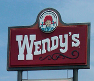 Wendy's '80s Sign