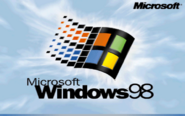 Windows 98 with Microsoft Logo