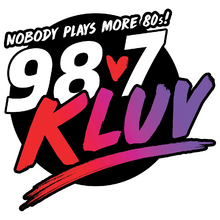 KLUV-FM 2019 logo