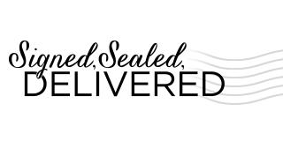 Signed Sealed Delivered TV logo