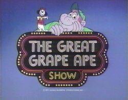 The Great Grape Ape Show card