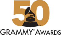 50 Grammy Awards logo