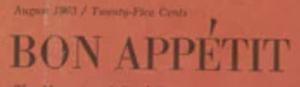 Bon Appétit logo 1956