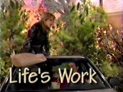 Lifes work 1
