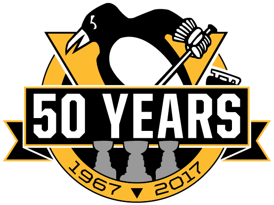 Filepittsburgh Penguins Logo Th Anniversary Png