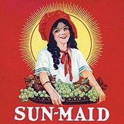 Sun-Maid brand logo used in 1923