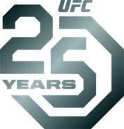 UFC 25th Anniversary Logo I