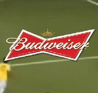 Logotipo de Oferecimento do Futebol na Globo (2012) Budweiser