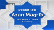Shortly the maghrib prayer on RCTI