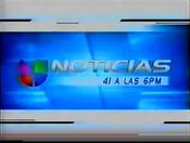 WXTVNoticias41Univision6PMOpen2001