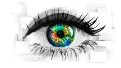 Celebrity Big Brother 21 eye logo