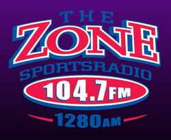 KZNS Sportsradio AM 1280 104.7 FM The Zone