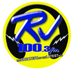 RJ 100.3 FM Logo 2009