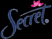 Secret deodorant logo 2002