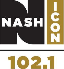 WNUQ 102.1 Nash Icon