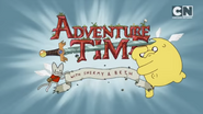 Adventure Time 2018 finale alternate logo