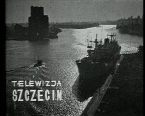 Defunct TV Szczecin still