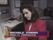 WBRC-TV FOX 6 News promo of Michelle Cimino in 1996