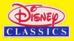Disney Classics UK VHS Logo 1980s