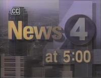 KDFW News 4 Texas 5PM open - 1992