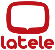 LaTele - Logo Oficial 2018 (Vertical On Screen) (Rojo) (HiDef)