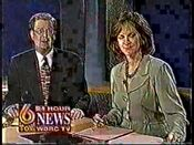 WBRC-TV's FOX 6 News At 5 video open from September 6, 1996