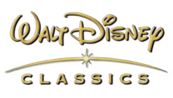 Walt Disney Classics 2001-2008 Print Logo with the glow